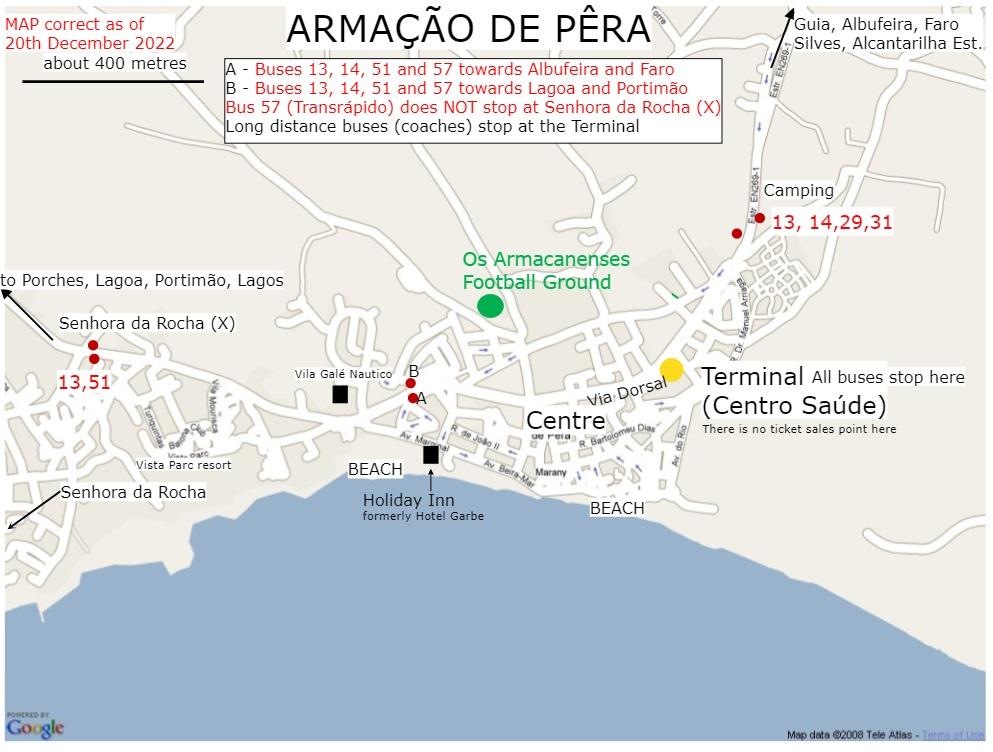 Worksheet. Algarve bus timetables alphabetical Index of places served