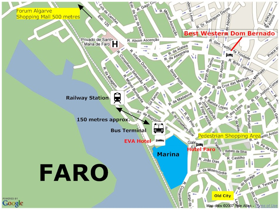 Bus timetable Faro Faro Airport