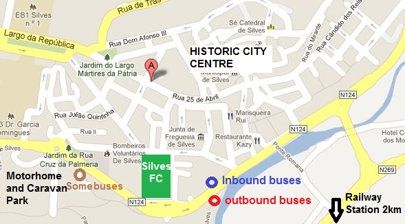 Algarve bus timetables alphabetical Index of places served